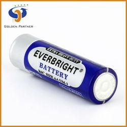 Durability pvc jacket zinc carbon r6 battery 1.5v for toys