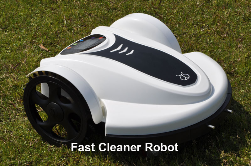 Free Shipping Newest Arriving Smartphone App Control Robot Automatic Lawn Mower (Li-ion Battery) With Water-Proof Charger