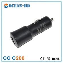 portable 5v 1a universal car charger CC C200