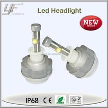 Energy saving ETI cr ee 40w H3 headlight, housing aluminum 3600 led headlight