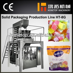 Excellent cotton candy automatic packing machinery