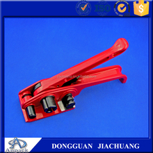 Hand wire tensioning strap tool