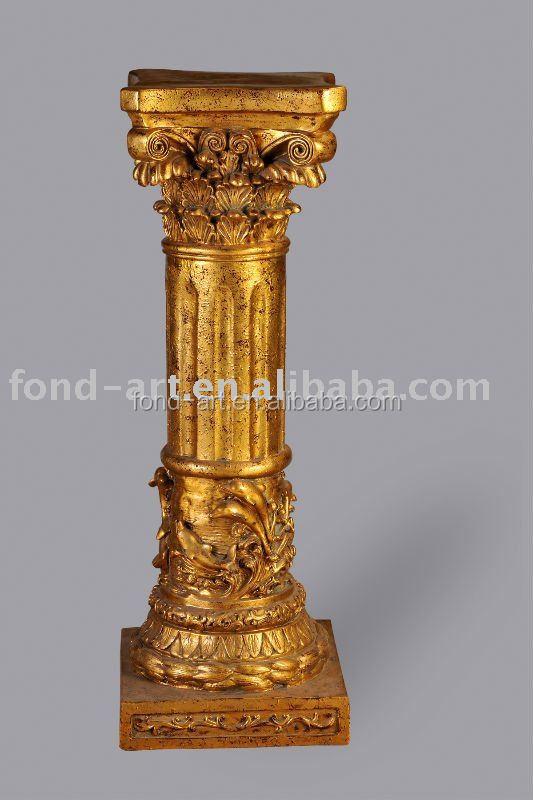Pu838 antique pu romaine art pilier colonne pour d coration - Decoration romaine antique ...