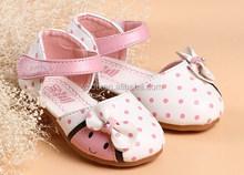 New design baby fancy children shoes 2015