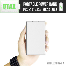 Japanese wholesale products Aluminum external mobile battery 8000mAh charger bank factory with LED emergency lamp