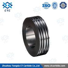 grounded tungsten carbide rod heat resistance tungsten carbide roller for rolling reo bar with CE certificate