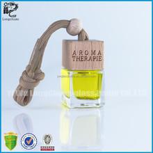 square shape car perfume bottles,car air freshener bottles