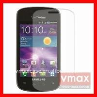 Mobile phone screen film/screen ward/screen guard for SAMSUNG i110 Illusion