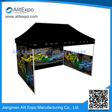 folding folding outdoor metal canopy for promotion marquee