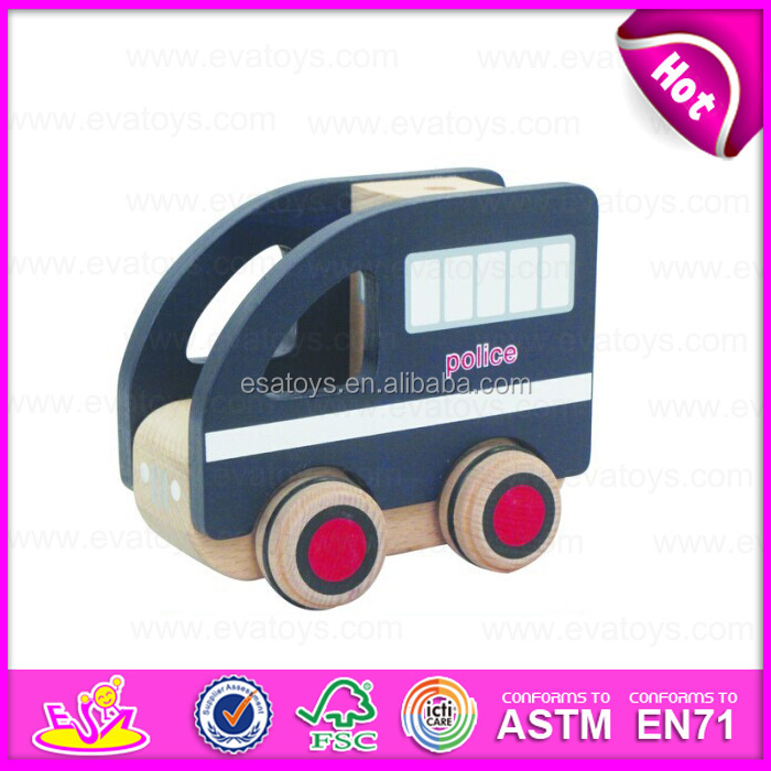 wooden toy cars for kids wooden police toy car kids