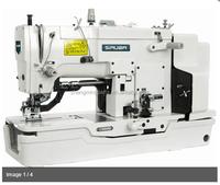 SIRUBA HIGH SPEED 1-NEEDL LOCKSTITCH BUTTONHOLING SEWING MACHINE