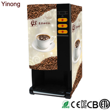Wholesale 3 Flavors Automatic Coffee and Beverage Vending Machine