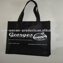2012 high quality black nonwoven bag
