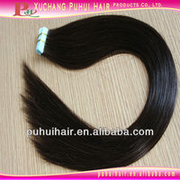 New design fashion 20 inch all machine made skin weft hair extension