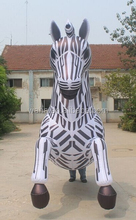 HOT!!! event/party/stage/club/outdoor decoration inflatable/horse model/walking/costume/mascot for advertising/promotional W803