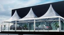 aluminum frame lawn pagoda transparent tent camping