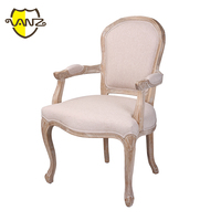 Hotel Banquet Chair with Arm Dining Armrest Chair Upholstered Restaurant Chairs for Sale VZD036