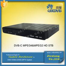 Singapore Fully DVB-C /MPEG-4/MPEG-2 TV set top box/dvb-c usb tv tuner