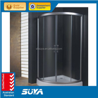Shanghai sector deep tray chromotherapy shower enclosure