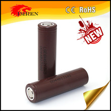 New arrival LG HG2 /LGDBHG21865 3000mAh 20A 3.6V rechargeable lithium / li ion battery For power tools