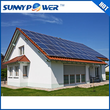 high quality high efficiency blue new arriving 3000W solar system