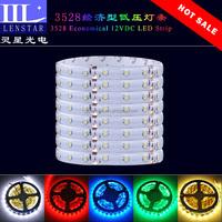 Hot sale 60PCS of high brightness SMD 3528 LED per meter economical 12VDC Coated epoxy type Flexible LED Strip