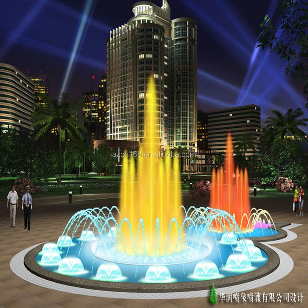 Peque o redonda fuente de agua de piscina redonda fuente - Fuente para jardin ...