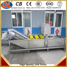 salad vegetable processing line for potato carrot washing machine