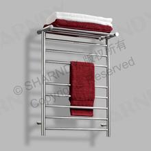Sharndy de acero inoxidable pulido baño toallero radiador de la ropa con la marca CE