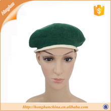 Cheap colorful wool school beret