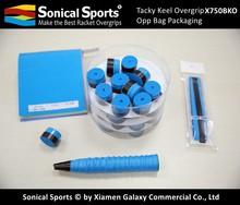 Tacky badminton grip and overgrip OEM, OEM badminton grip tape