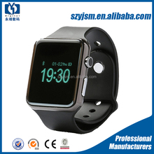 "Low cost smart watch MTK6260A cpu 1.54"" touch screen smart watch with sim card internet A1 watch phone"