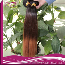 colored brazilian hair weave cheap straight human hair weft 1b #4 #30