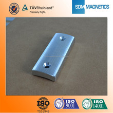 customized high quality powerful zen coated neodymium rare earth magnet