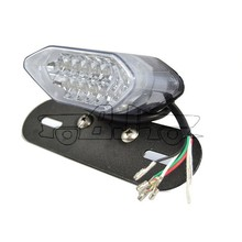 BJ-LPL-015 High quality manufacture E-marked 12V motorcycle led tail light with turn signal for scooter KTM