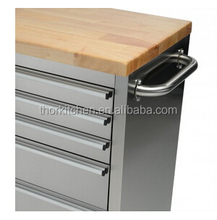 Hyxion 72 Inch Stainless Steel Tool Chest and Cabinet Combo