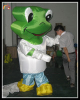 funny inflatable frog / inflatable giant frog / inflatable frog costume