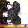 venta al por mayor en línea tienda de pelo kanekalon para trenzar kinky afro armadura del pelo humano