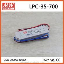 LPC-35-700 Meanwell 48v 700ma CE UL led driver