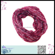New design knitted acrylic scarf lady neckerchief JXNC-0009