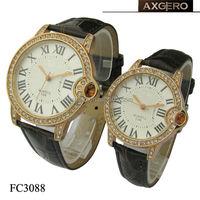 chinese vogue rhinestone cute couple watch