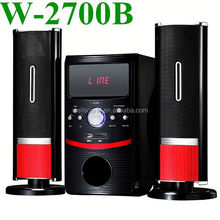 2.1Ch Red Powerful Hi Fi 2.1 Home Theater with USB FM USB with USB/SD/FM Function