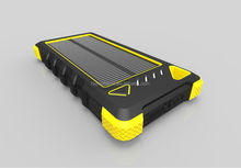 2015 Best sale solar portable power bank solar mobile power
