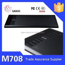 Hot sale M708 signature graphic pressure graphic animation tablet
