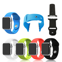 Silicon sport watchband for apple watch 2015 42MM