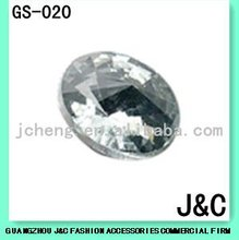 crystal decorative glass stone for shoes ornament