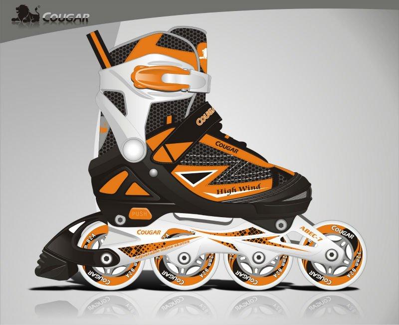 professionnels chaussures de patinage système réglable