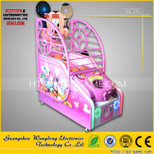 Arcade Amusement coin operated electronic basketball game For Kids and Children