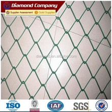 hot sale 9 gauge galvanized chain link fence supply the whole solution including mesh fabric and accessories)