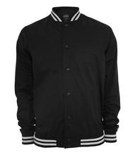 Urban Classics Summer Cotton College Jacket - Size: M - Color: black